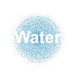 Water spray vector