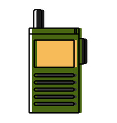 old cellphone technology vector image