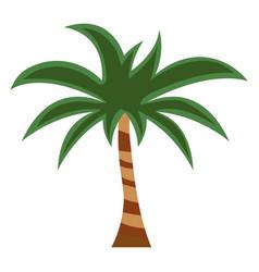 Palm flat icon cartoon vector