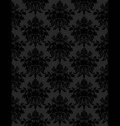 dark retro seamless background vector image