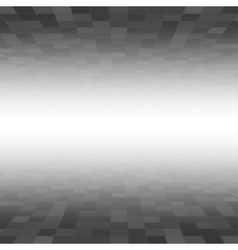 Black Mosaic Tile Square Background Perspective vector image vector image