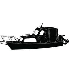 Boat - vector
