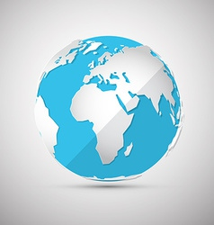 Globe - Earth - Planet vector image vector image