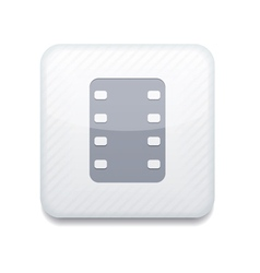 White film icon eps10 easy to edit vector