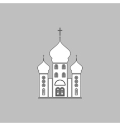 Church computer symbol vector