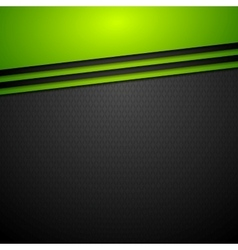 Dark corporate abstract background vector