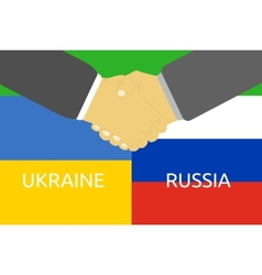 Russia and ukraine crisis vector