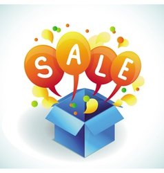 sale vector image vector image