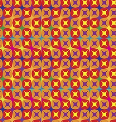seamless pattern in warm tones vector image vector image