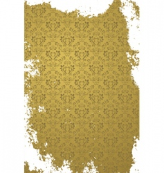 Grunge gold background vector