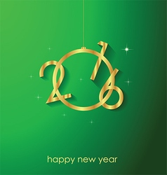 Happy new year for your backgrounds vector