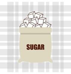 Sugar product design vector