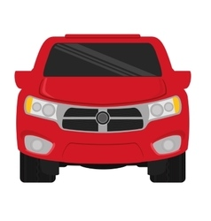 Pick up truck vector