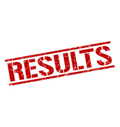 Results stamp vector