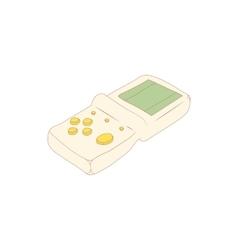 Tetris icon cartoon style vector