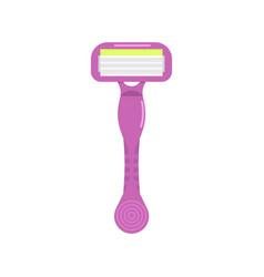 womens shaving razor icon vector image