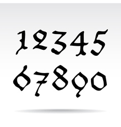 Ghotic numbers vector