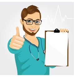 Nurse doctor healthcare and medicine vector