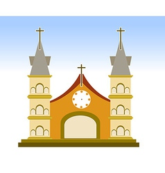 Church sign vector