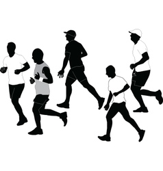 marathon collection vector image
