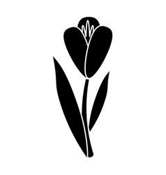 Flower flora fragant garden pictogram vector