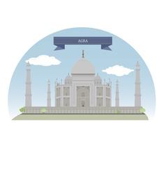 Agra vector image vector image
