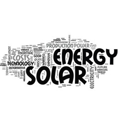 Arguments against solar energy text word cloud vector