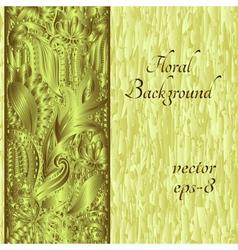Ethnic ornament invitation card vector