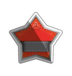 fashion hanger symbol vector image vector image