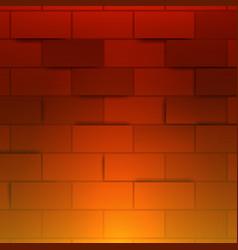 Light red brick wall 3d brick wall abstract vector