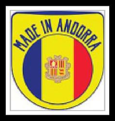 Made in Andorra sign vector image vector image
