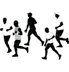 marathon collection vector image