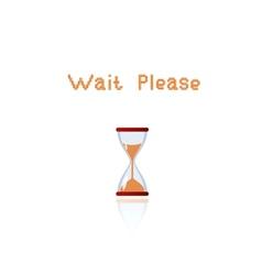 Wait please vector