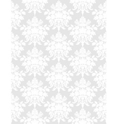 white retro seamless background vector image