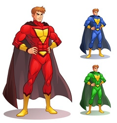 Great Superhero vector image vector image