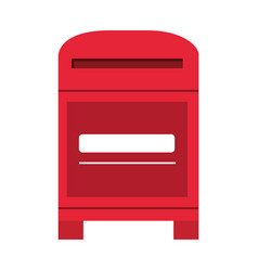 mailbox mail icon image vector image