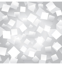White abstract background with rectangles vector image vector image