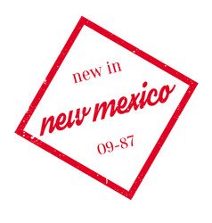 new in new mexico rubber stamp vector image