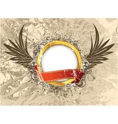vintage grunge label vector image