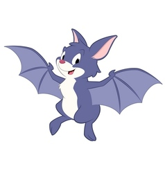 Cartoon Bat vector image vector image