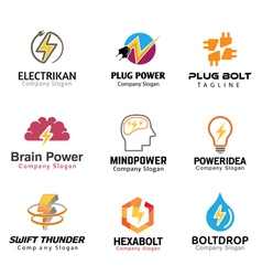 Electric symbol design vector