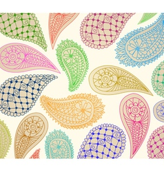 natural ornament vector image vector image