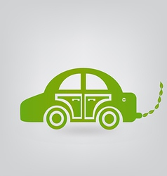 Ecologic car vector