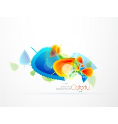 colorful abstract vector image