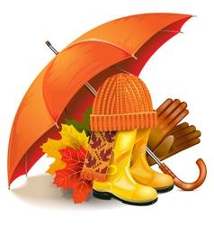 Autumn Concept vector image vector image