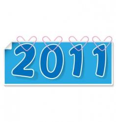 calendar sign vector image vector image