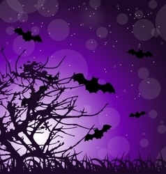 Dark Scary Background vector image vector image