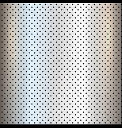 Metallic texture background vector