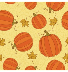 thanksgiving pattern vector image vector image