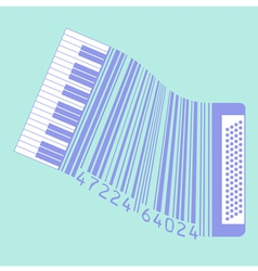 Upc accordion vector
